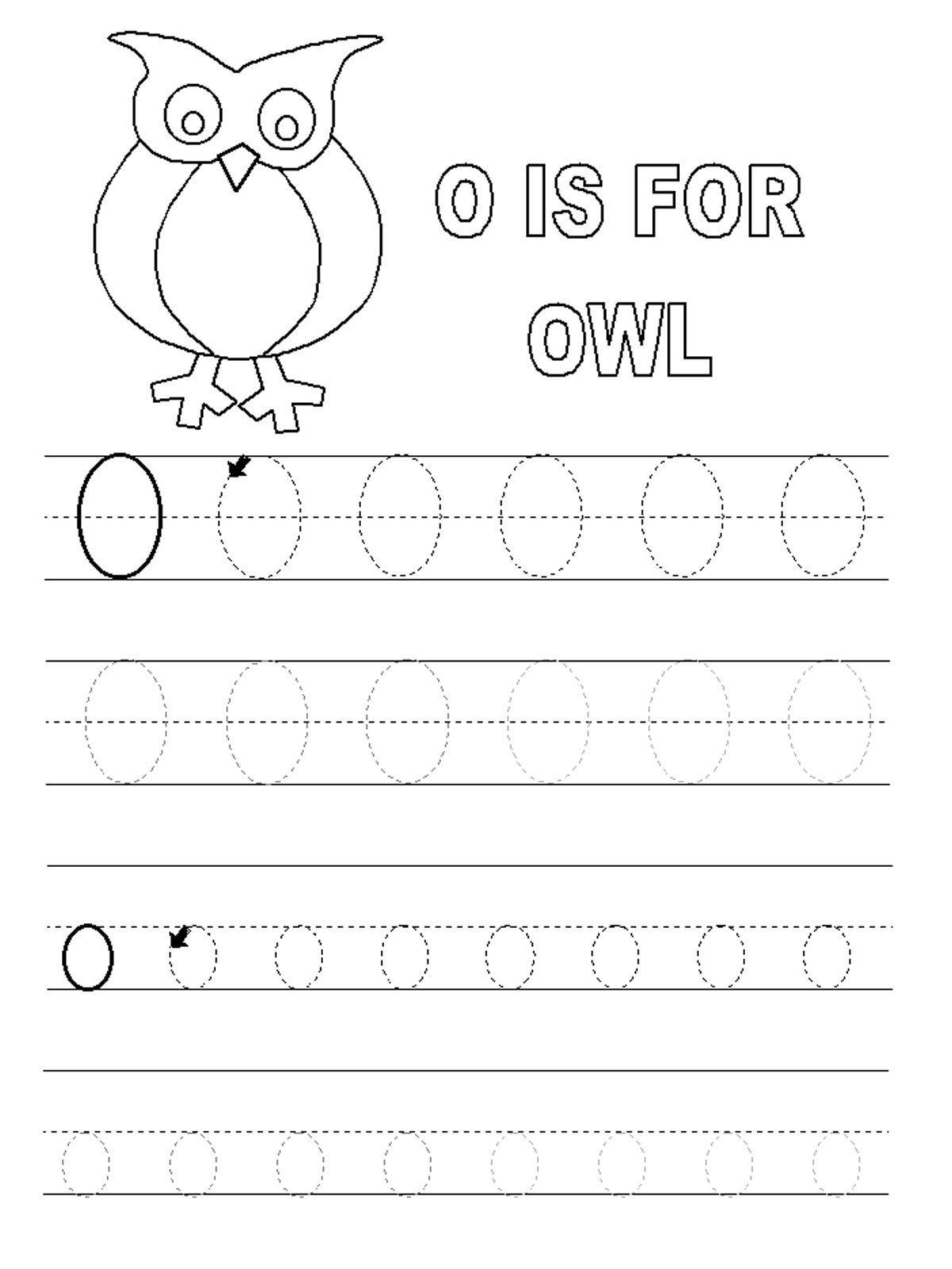 Worksheet ~ Letter O Worksheets Forl Alphabet Short