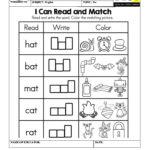 Worksheet On Three Letter Words | Three Letter Words, Letter