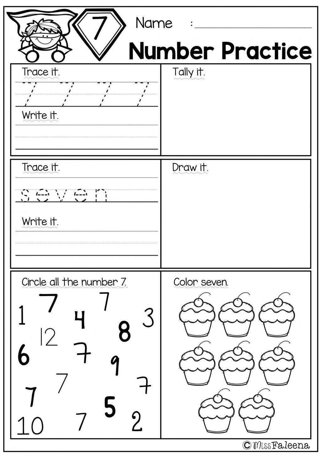 Worksheet ~ Pre Kindergarten Worksheets Printables Photo