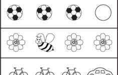 Pre School Activities Work Sheet