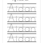 Worksheet ~ Trace Name Worksheets Custom Tracing Sheets