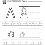 Worksheet ~ Worksheet Letter Alphabet Learningble Free For