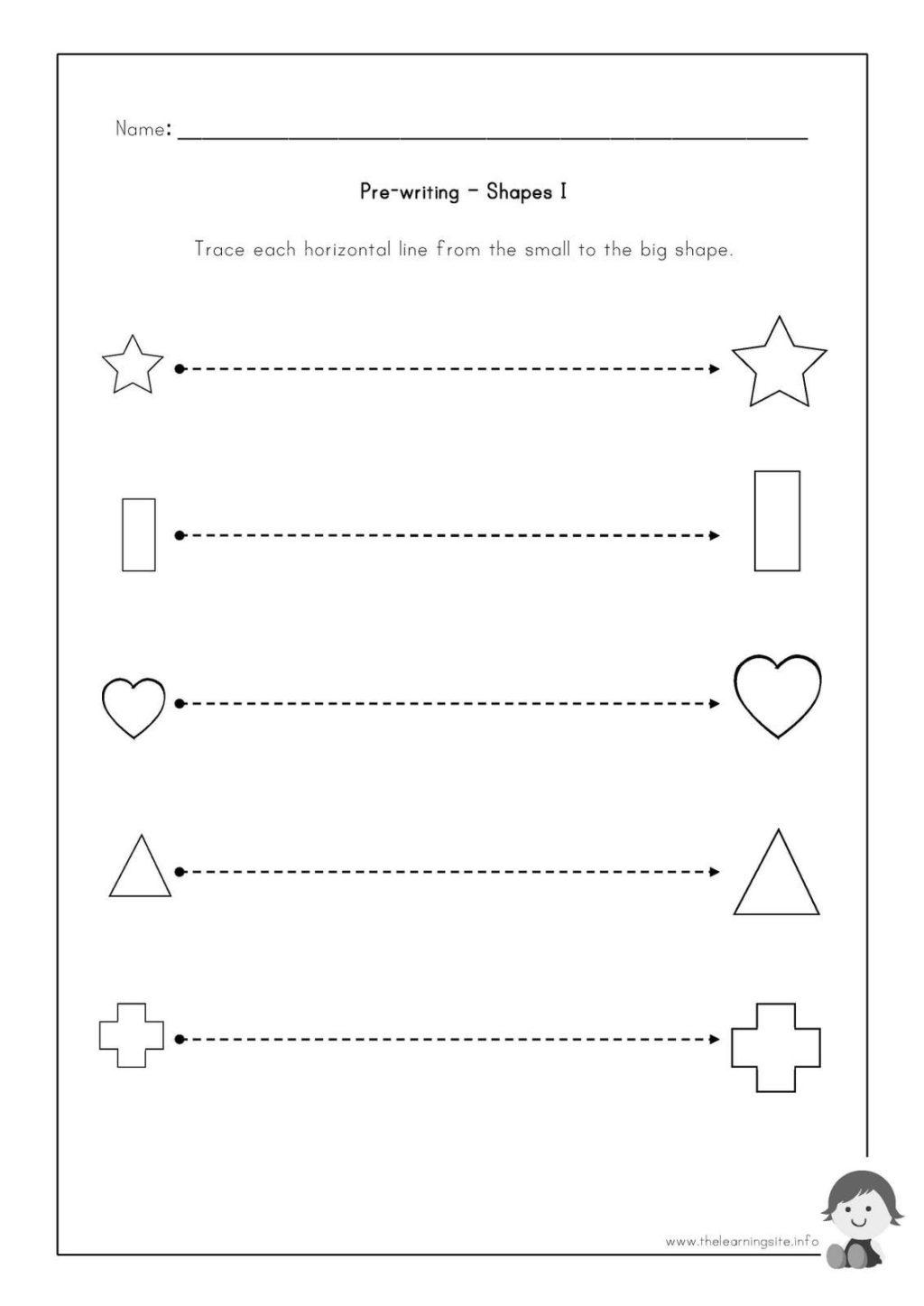 Worksheet ~ Worksheet Writing Worksheets For Preschoolers