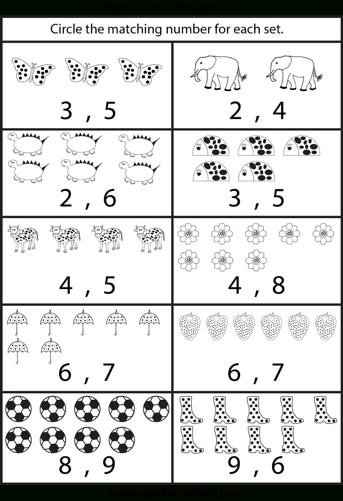 Worksheetfun - Free Printable Worksheets | Preschool Math