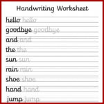 Worksheets : Follow Recent Post Sharing Some Non Cursive