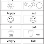 Worksheets For 4 Years Old Kids | Opposites Preschool