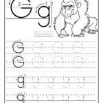 Worksheets For Preschoolers | Printable Letter G Tracing