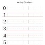 Writing Numbers Worksheets Printable | Writing Numbers