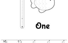 Preschool Worksheets Number 1