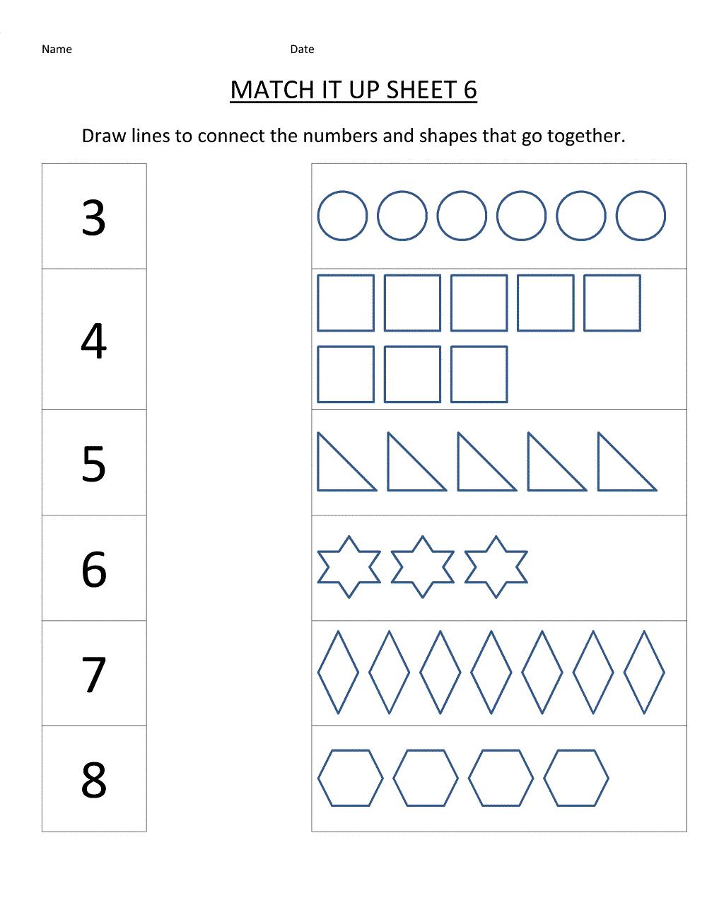 Year Old Worksheets Preschool Extraordinary Kindergarten